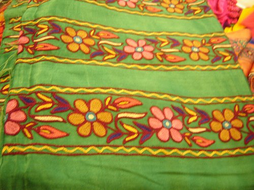 Indian Heritage - Embroidery - Kutch embroidery from Gujarat by