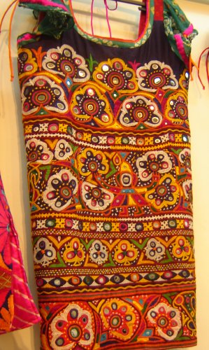 Indian heritage embroidery kutch from